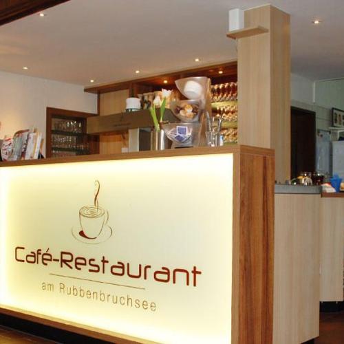 Café-Restaurant Theke